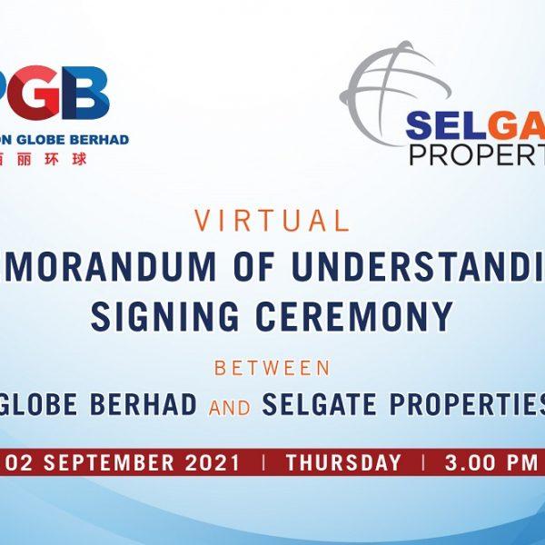 PGB Selgate Properties MOU 2021
